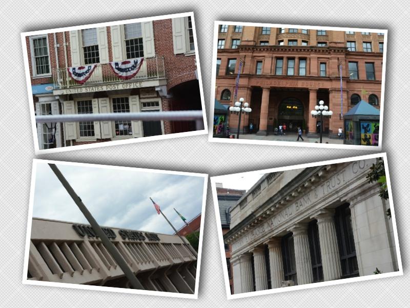 Primo ufficio postale, prima borsa delle materie prime, prima zecca, prima banca